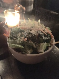 Cheap House salad w/buttermilk ranch dressing